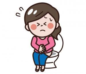 出掛ける前から腹痛