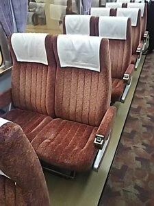 ロマンスカーLSEの座席