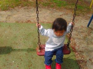 1歳の時の次女です