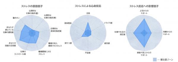 5分でできる職場のストレスチェック - 円グラフ