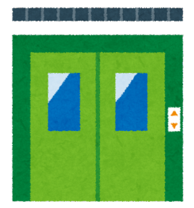 エレベーターに乗ったのにボタンを押し忘れている