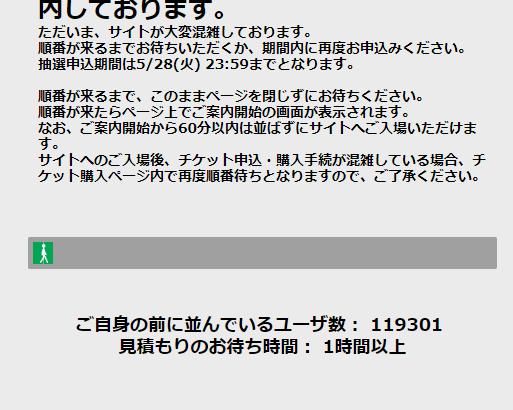 2時間待ち?東京オリンピック公式チケット購入の流れとID登録手順