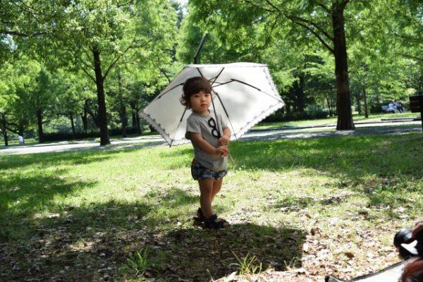 日傘男子はあり?