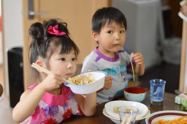 子供が食事にかける平均時間とは