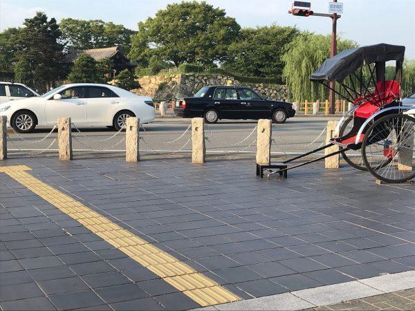 姫路駅から姫路城まで徒歩で行く方法13