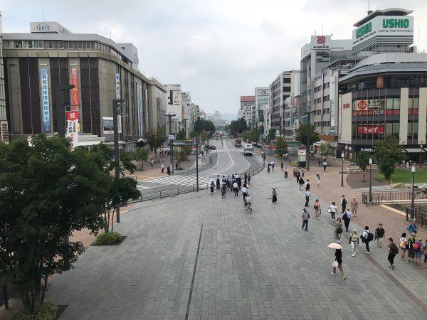 姫路駅から姫路城まで徒歩で行く方法4