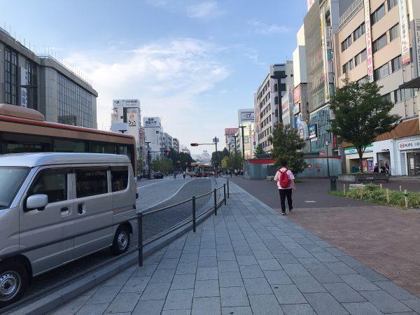 姫路駅から姫路城まで徒歩で行く方法2