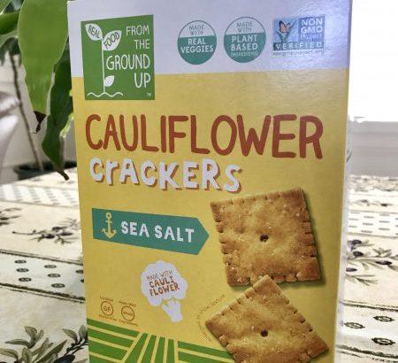 「カリフラワークラッカー」レビュー!44枚で100キロカロリーのお菓子