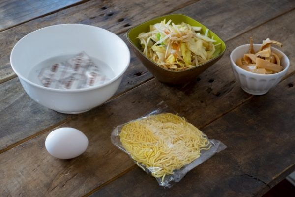 イトメン「チャンポンめん」お気に入りの食べ方