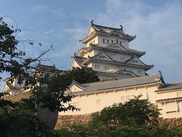 姫路駅から姫路城 徒歩で行く方法を写真で紹介