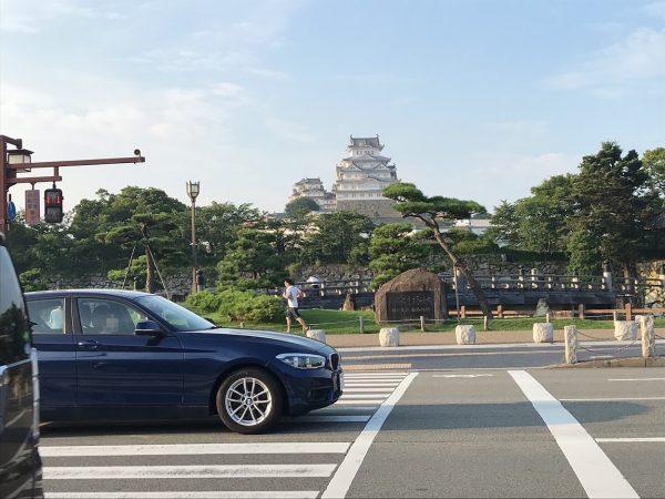 姫路駅から姫路城まで徒歩で行く方法14