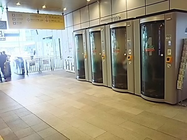 新宿STATION WORK ステーションブースの外観
