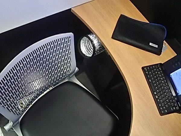 「ステーションブース」椅子