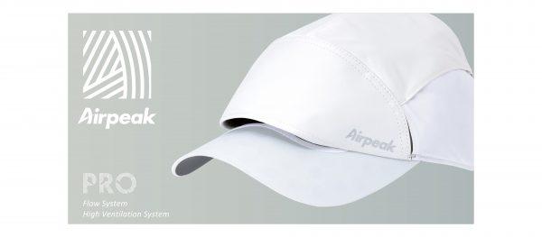 エアピークプロの効果とは?頭部への通気性が良い熱中症対策キャップ