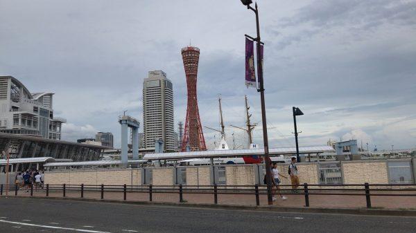 「コベリン」サイクリング中に見た神戸タワー
