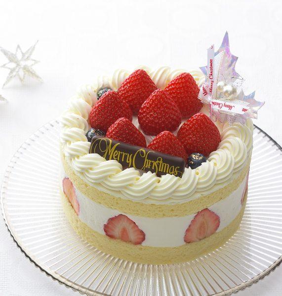 クリスマスケーキ 銀座コージーコーナー 紅ほっぺのデラックスクリスマス