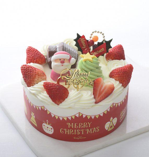 クリスマスケーキ2019 銀座コージーコーナー ショートデコレーション(5号)