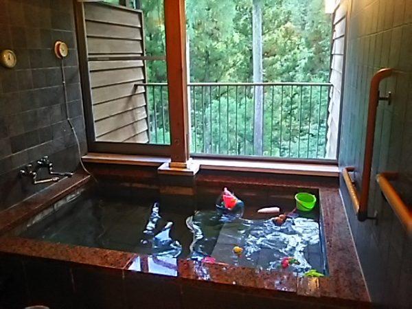 「秋川渓谷 瀬音の湯」貸切風呂