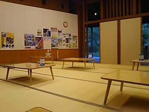 「秋川渓谷 瀬音の湯」休憩所
