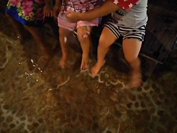 「秋川渓谷 瀬音の湯」足湯