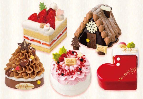銀のぶどう2019年クリスマスケーキ!見た目もサイズも可愛い全5種