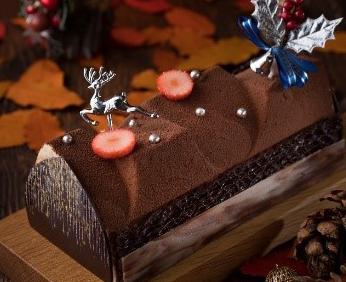 シェラトン都ホテル東京 クリスマスケーキ ブッシュ・ド・ノエル