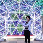 「光のフォトスポット」光のテラス