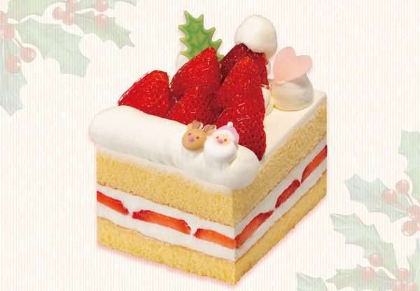 『苺のショートケーキ~サンタの帽子~』