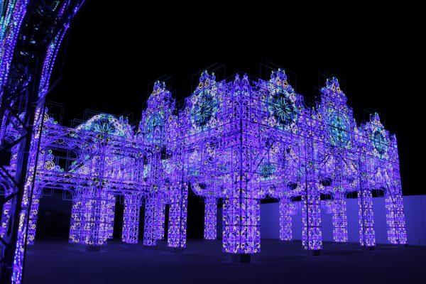 「史上最光の冬ラグーナ」青の宮殿