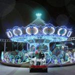 「光のフォトスポット」マーメイドカルーセル