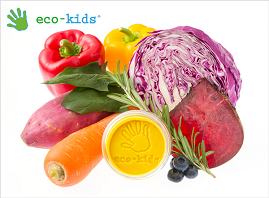 オーガニック野菜とフルーツの粘土