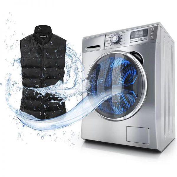 Vinmoriの電熱ジャケット 洗濯機で丸洗い