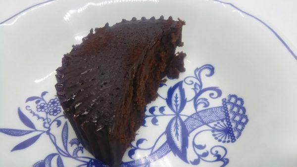 レンジで温めた「テリーヌショコラ」の味は?