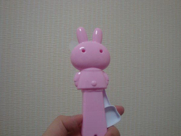 ハンディファンウサギ ピンク3