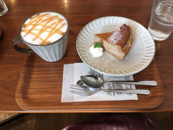 グリーンビーンズカフェ ケーキ