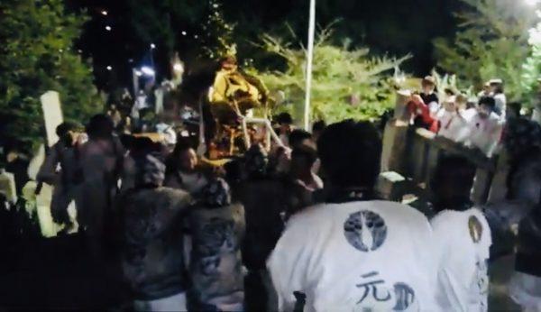 瀬戸田町名荷神社祭り(広島県尾道市のだんじり祭り)の特徴