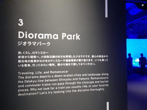 ロマンスカーミュージアム 一番人気 ジオラマパーク