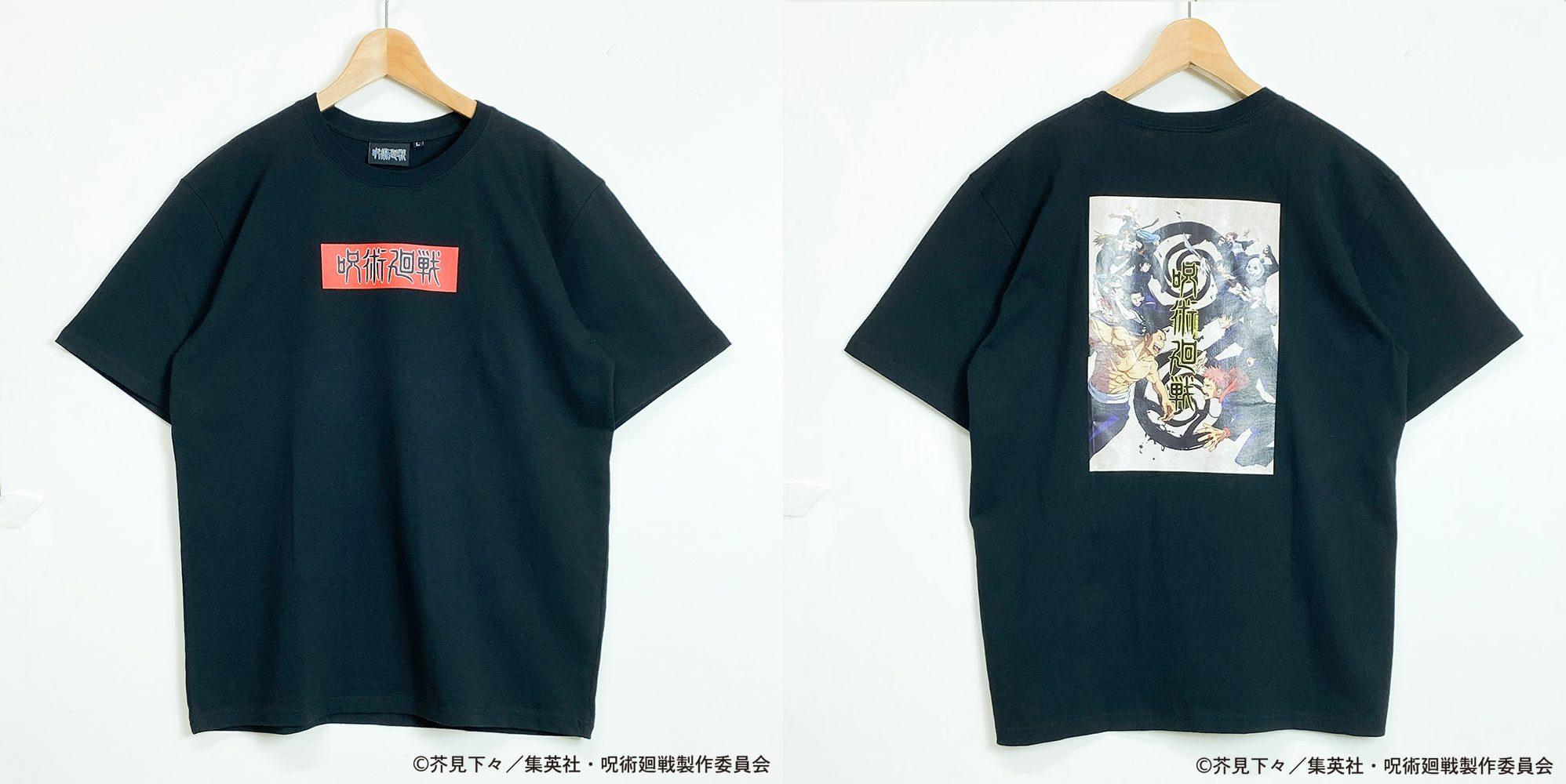 呪術廻戦Tシャツ クロB