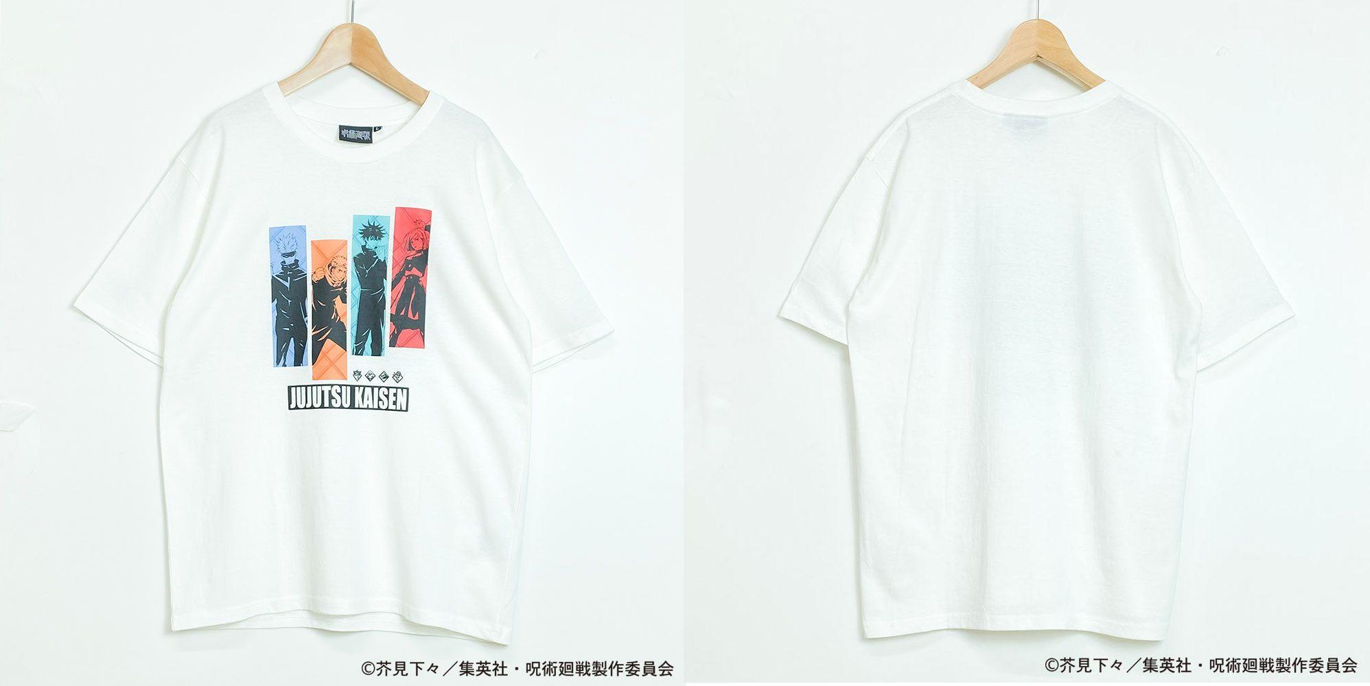呪術廻戦Tシャツ シロ
