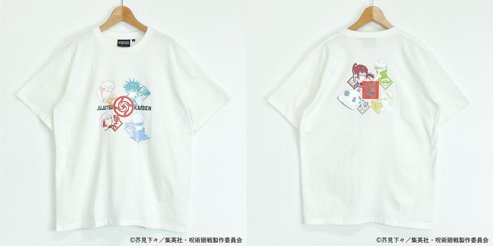呪術廻戦TシャツB(S~LL)