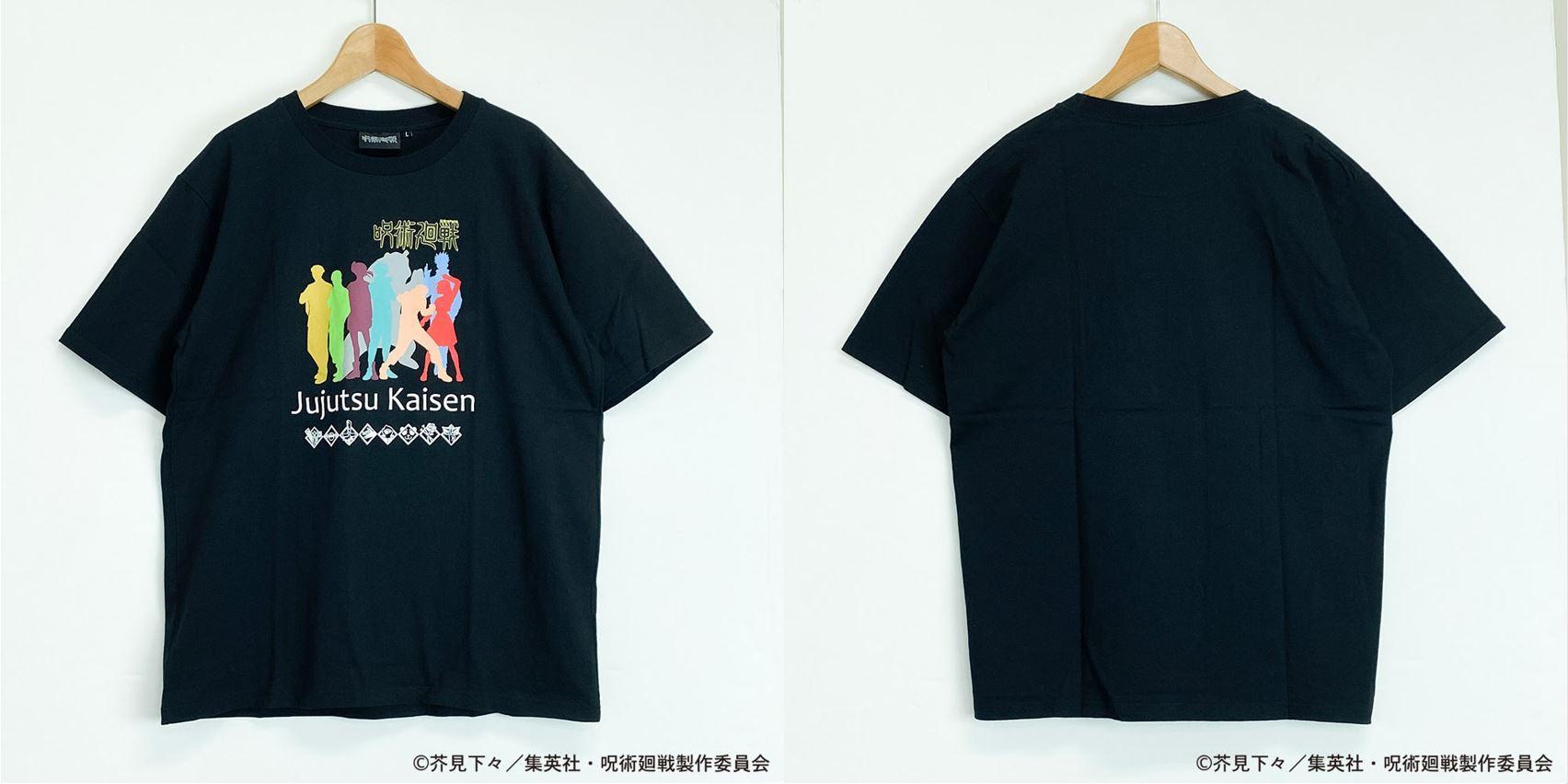 呪術廻戦TシャツC(S~LL)