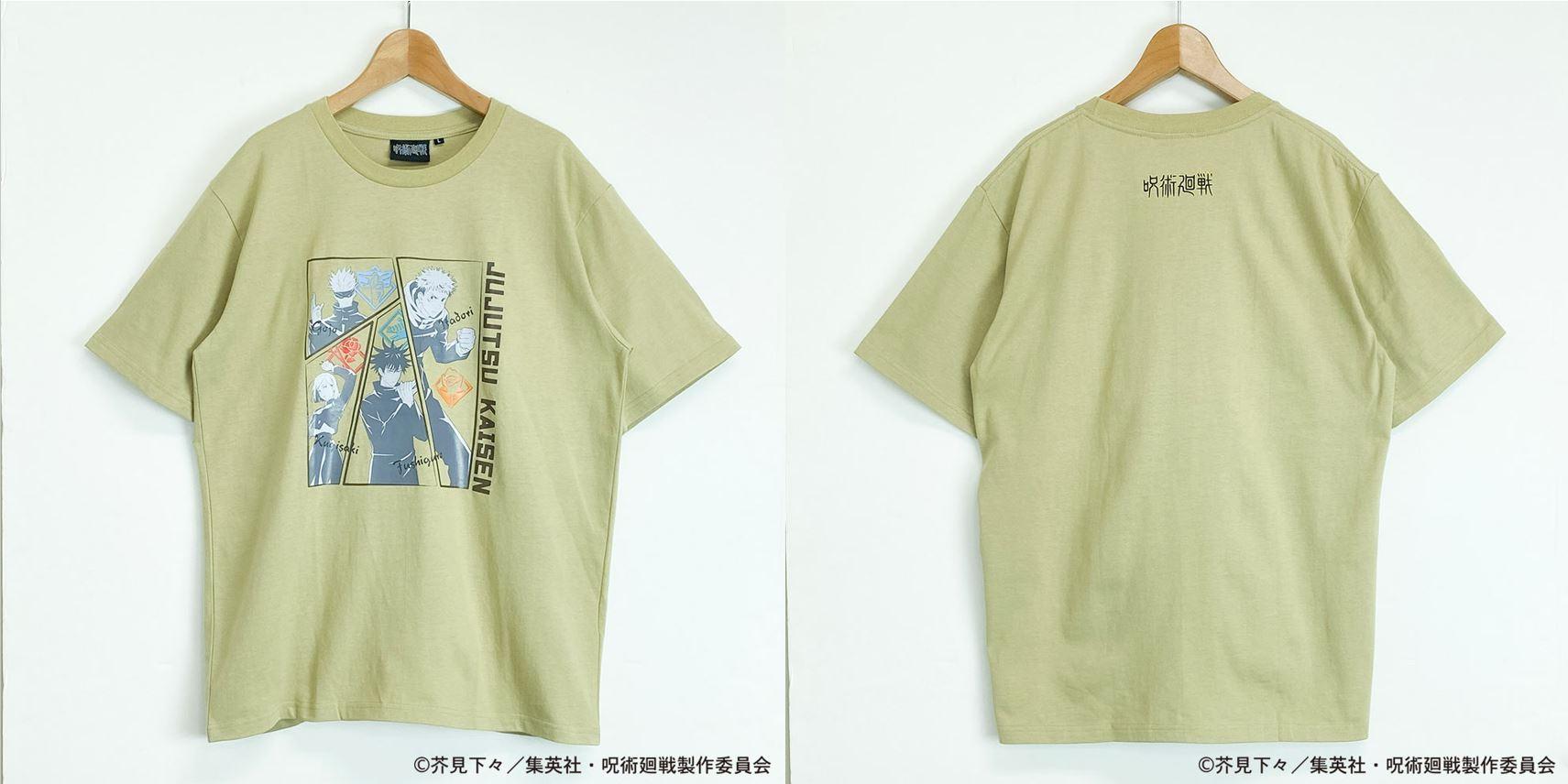 呪術廻戦TシャツD(S~LL)